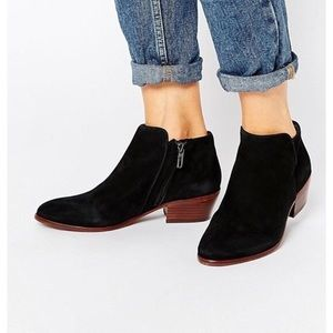 Sam Edelman Suede Black Petty boots